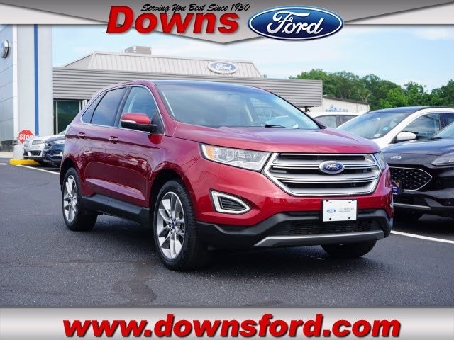 Ford Edge Titanium In Toms River Nj Downs Ford