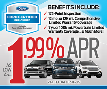 Ford Certified Pre Owned >> Certified Pre Owned Vehicles Toms River Nj Downs Ford
